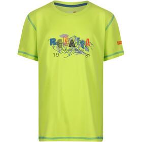 Regatta Alvarado IV Shortsleeve Shirt Children yellow
